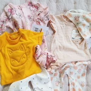 Other - Lot of 3 baby outfits 0-3 month NEW with tags